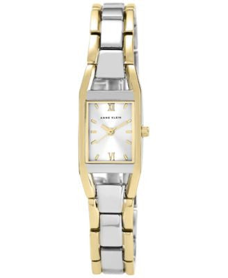 Anne Klein Watch, Women's Two Tone Bracelet 10-6419SVTT