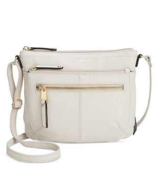 Tignanello Pretty Pockets Smooth Small Leather Crossbody