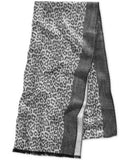 MICHAEL Michael Kors Leopard Jacquard Wrap, Only at Vogily