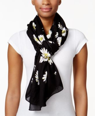 kate spade new york Falling Daisy Oblong Scarf