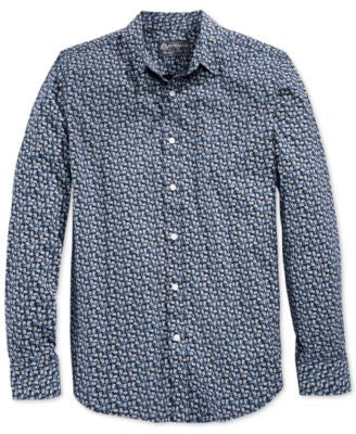 American Rag Men's Mini Floral-Print Shirt, Only at Vogily