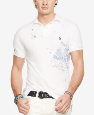 Polo Ralph Lauren Custom-Fit Graphic Polo Shirt