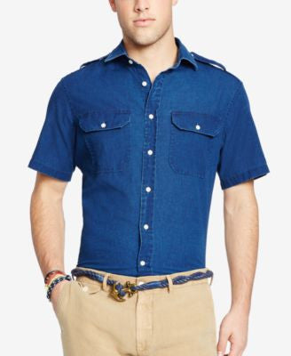 Polo Ralph Lauren Chambray Short Sleeve Shirt