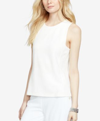 Lauren Ralph Lauren Paneled Sleeveless Shell