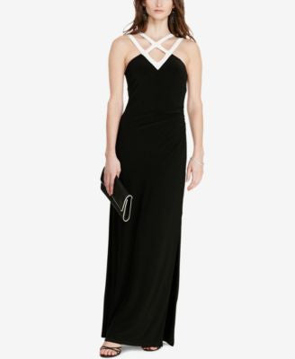 Lauren Ralph Lauren Two-Toned Gown
