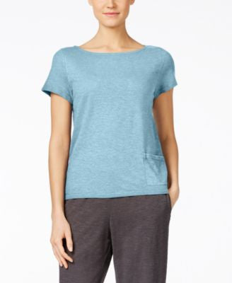 Eileen Fisher Pocket Organic Cotton Top