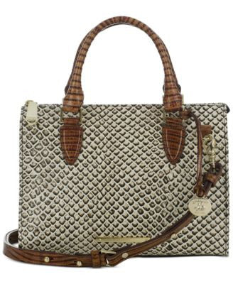 Brahmin Onyx Java Anywhere Convertible Satchel
