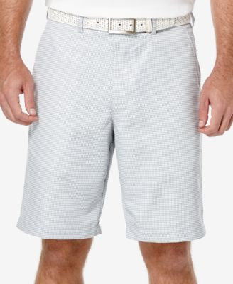 PGA TOUR Men's Mini Plaid Golf Short