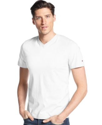 Tommy Hilfiger Big and Tall Men's Elmira V-Neck T-Shirt