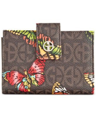 Giani Bernini Signature Butterfly Wallet, Only at Vogily