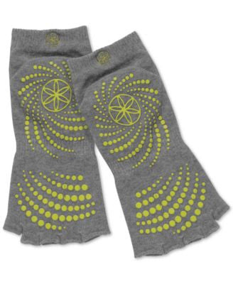 Gaiam Grippy No-Slip Yoga Socks