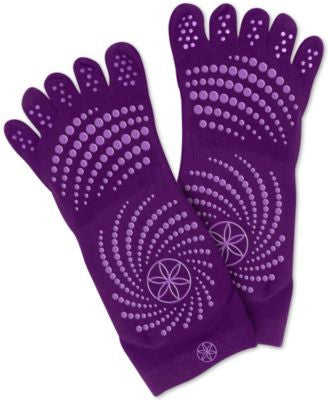 Gaiam Grippy Yoga Socks