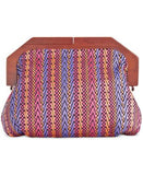 INC International Concepts Miinie Wood Clutch, Only at Vogily