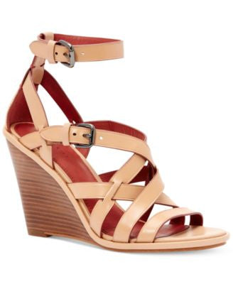 COACH Dawn Strappy Wedge Sandals