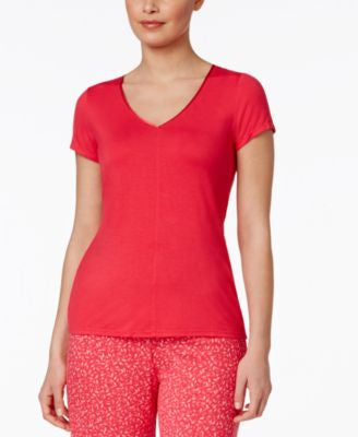 Alfani V-Neck Pajama Top, Only at Vogily