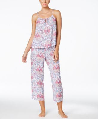Alfani Printed Pajama Set, Only at Vogily