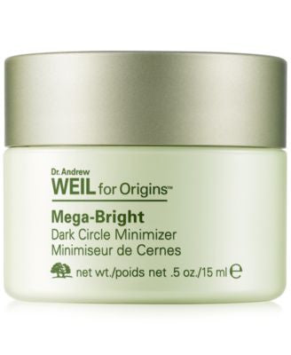 Dr. Andrew Weil for Origins Mega-Bright Dark Circle Minimizer, .5 oz
