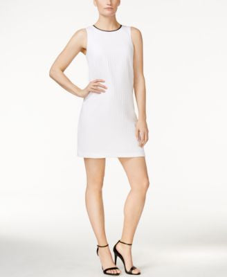kensie Textured Shift Dress