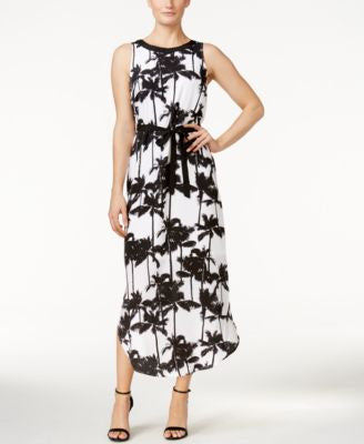 kensie Printed Maxi Dress