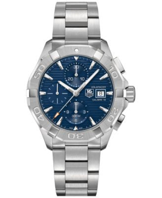 TAG Heuer Men's Swiss Chronograph Aquaracer Calibre 16 Stainless Steel Bracelet Watch 43mm CAY2112.B