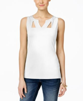 INC International Concepts Sleeveless Cutout Top, Only at Vogily