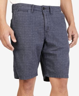 Lucky Brand Men's Printed Utility Plain Front Shorts