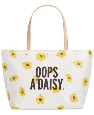 kate spade new york Down the Rabbit Hole Oops-A-Daisy Francis Tote