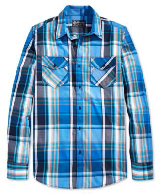 American Rag Men's Plaid Shirt, Only at Vogily