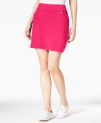 Style & Co. Pull-On Cargo Skort, Only at Vogily