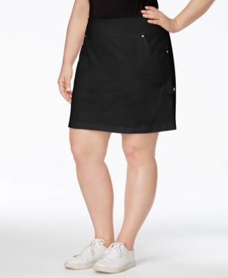 Style & Co. Plus Size Skort, Only at Vogily