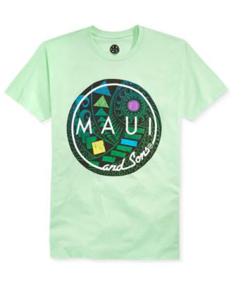 Maui and Sons Men's Cookie Hula T-Shirt