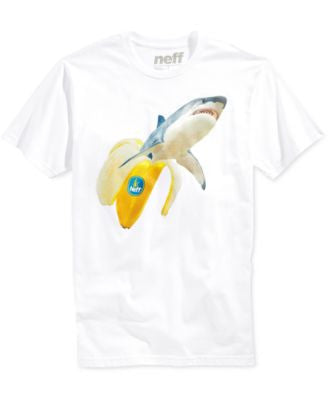 Neff Men's Sharknana Graphic T-Shirt