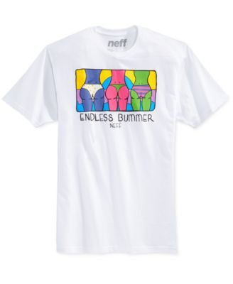 Neff Men's Endless Bummer Graphic T-Shirt