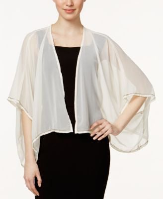 Collection XIIX Beaded Trim Kimono