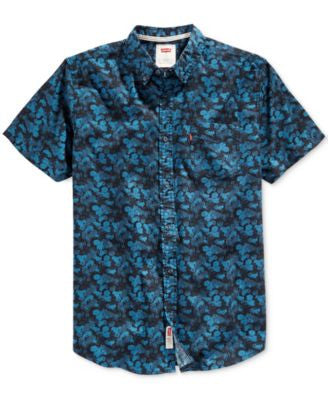 Levi's® Men's Prose Floral-Print Short-Sleeve Shirt