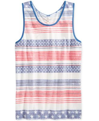 Univibe Men's American Capital Tank Top