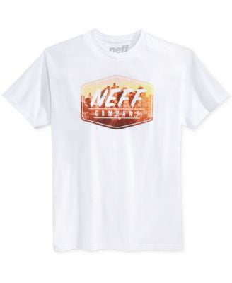 Neff Men's City Lyfe Logo-Graphic T-Shirt