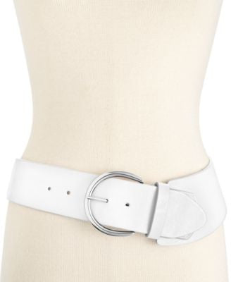 Style & Co. Casual Asymmetrical Stretch Belt, Only at Vogily