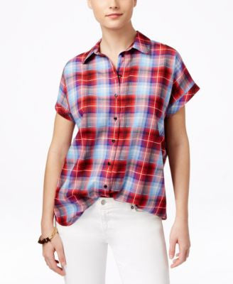 G.H. Bass & Co. Plaid Short-Sleeve Shirt