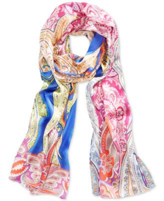 Echo Paisley Oblong Scarf