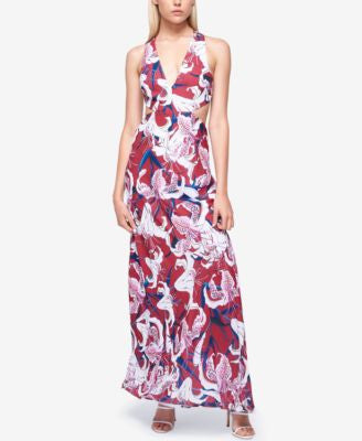 Fame and Partners Georgette Maxi Dress