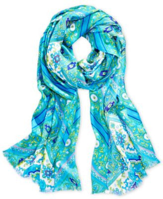 INC International Concepts Iconic Paisley Print Scarf, Only at Vogily