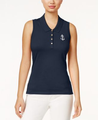 Tommy Hilfiger Nancy Sleeveless Logo Polo