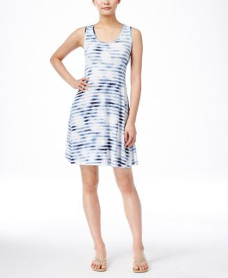 Style & Co. Sleeveless Printed Dress, Only at Vogily
