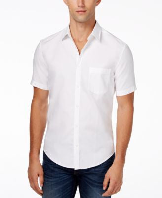 Hugo Boss Green Baloy Short-Sleeve Shirt