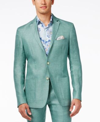 Tallia big & Tall Men's Varene Slim-Fit Linen Sport Coat