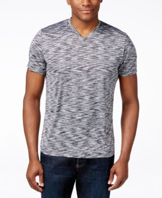 Alfani Space-Dyed V-Neck T-Shirt, Only at Vogily