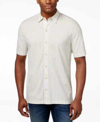 Cutter and Buck Big and Tall Button-Up Shirt