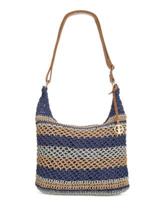 Giani Bernini Striped Woven Crossbody, Only at Vogily