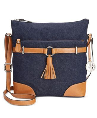 Giani Bernini Denim Crossbody, Only at Vogily